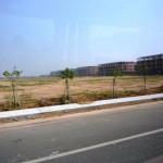 建設中の工業団地(ホーチミン郊外)