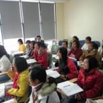 大学の教室(ハノイ)
