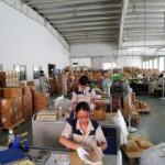 ジャカルタ郊外の印刷工場